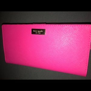 Authentic Kate Spade ♠️ Pink Wallet, EUC